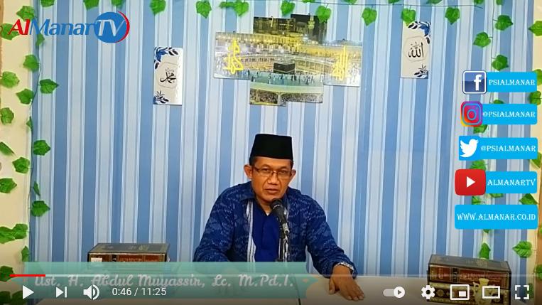 Hakikat Musibah Dalam Perspektif Al-Qur'an (video)